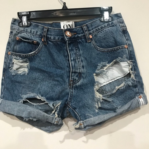 500565fc NWT One Teaspoon Charger Shorts